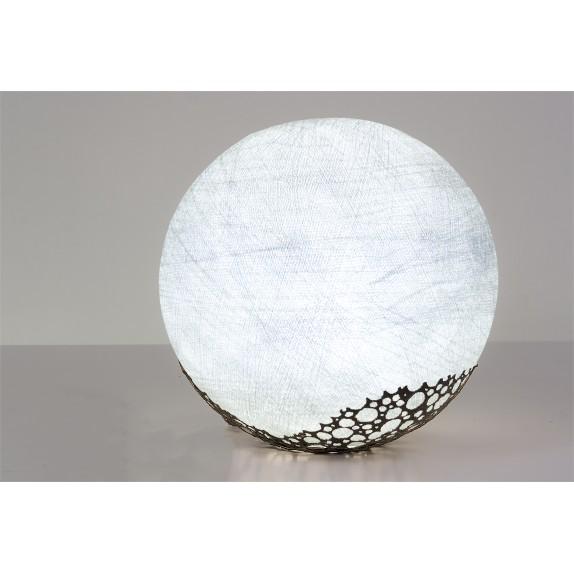 lampara globo algodon