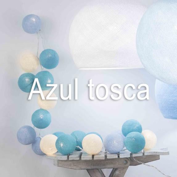 HILO GUIRNALDA AZUL TOSCA